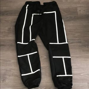 Pretty little thing reflective pants/ joggers